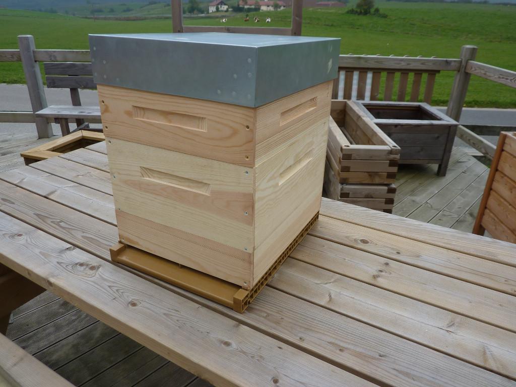 ruche dadant 10 cadres douglas la menuiserie des ruches