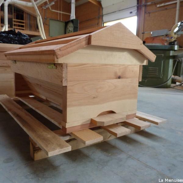 Ruche kenyane horizontale tbh la menuiserie des ruches - Comment fabriquer une ruche ...